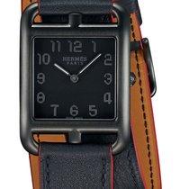 Hermès Cape Cod Steel 29mm Black United States of America, New York, Airmont