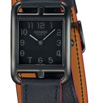 Hermès Cape Cod Steel 29mm Black United States of America, New York, Airmont