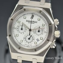 Audemars Piguet Royal Oak Chronograph  18K White Gold 39MM...