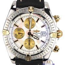 Breitling Chronomat Evolution Chronograph MOP Two-Tone B13356...