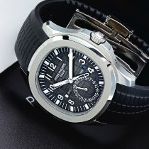 Patek Philippe A Stainless Steel Automatic Dual Time Zone...