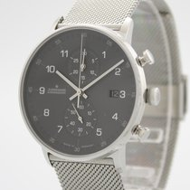 Junghans Steel Quartz Grey 40mm new FORM C
