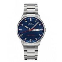 Mido Commander Gent Chronometer Blue Dial Days Ref. M021431110...
