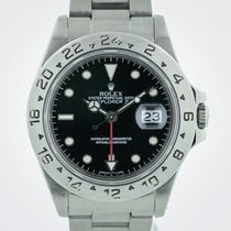 Rolex Explorer II, Ref 16570, Dual Time GMT, SS, Black Dial, 1995