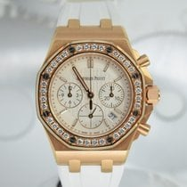 Audemars Piguet Royal Oak Offshore Lady Pозовое золото 37mm Cеребро Без цифр