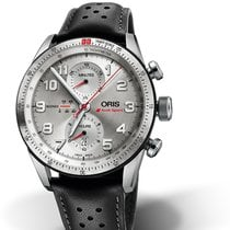 Oris Audi Sport new 2018 Automatic Chronograph Watch with original box and original papers 01 774 7661 7481-Set