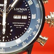 Locman Montecristo Crono automatico blu Day-Date LIMITED EDITION