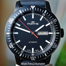 Fortis Monolith Black Case & Dial Automatic Day & Date Diver 42mm