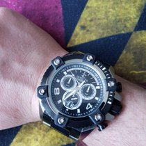 Invicta Chronograph 56mm Quartz pre-owned Black