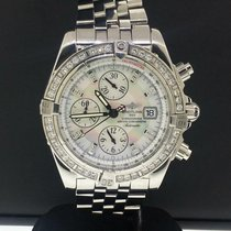 Breitling Chronomat Evolution Acero 43mm Madreperla Sin cifras