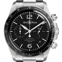 Bell & Ross BR V2 nou Atomat Cronograf Ceas cu cutie originală și documente originale BRV294-BL-ST/SST