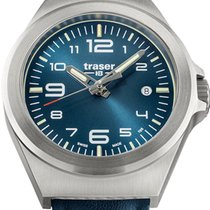 Traser Steel 37mm Quartz 108208 new