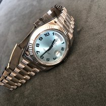 Rolex Day-Date II Or blanc 41mm