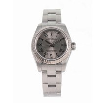 Rolex Oyster Perpetual 26 pre-owned 26.5mm Grey Steel