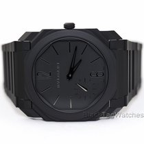 Bulgari new Automatic Display back Small seconds Only Original Parts 40mm Ceramic Sapphire crystal