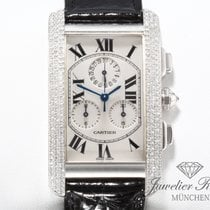 Cartier Tank (submodel) White gold 26.5mm White Roman numerals