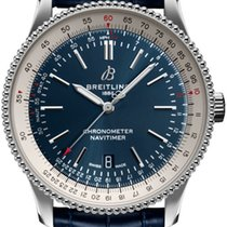 Breitling Navitimer Steel 41mm Blue United States of America, Iowa, Des Moines