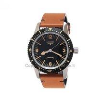 Longines Conquest Heritage L28224562 Longines Heritage Skin Diver Nero 42mm new