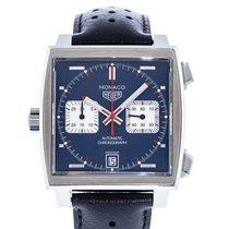 TAG Heuer Monaco Calibre 11 Acero 39mm Azul