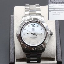TAG Heuer Aquaracer 300M pre-owned 40mm Mother of pearl Steel