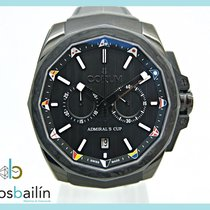 Corum Steel Automatic Black 45mm new Admiral's Cup AC-One