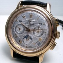 Zenith El Primero Chronomaster Rose gold 40mm Silver Roman numerals United States of America, New York, Greenvale