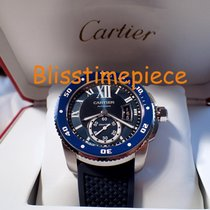 Cartier Calibre Diver Blue Dial Stainless Steel