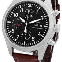 "IWC ""Classic Pilot's Chronograph Automatic""."