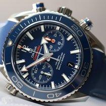 Omega Seamaster Planet Ocean Chronograph Acier 45.5mm Bleu Romain France, Thonon les bains