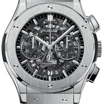 Hublot Classic Fusion Aerofusion Titanium 45mm Transparent United States of America, New York, Airmont