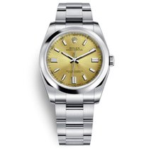 Rolex Oyster Perpetual 36 Steel 36mm Champagne No numerals United States of America, New York, NEW YORK