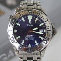 오메가 (Omega) Seamaster 300M Professional Chronometer Blue Dial