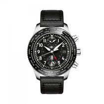 IWC Pilots Chronograph  Black Dial Automatic IW395001 Mens WATCH