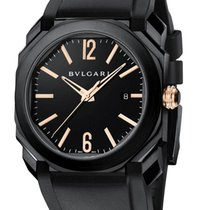 Bulgari Octo Solotempo DSL Steel Automatic 41mm Mens Watch