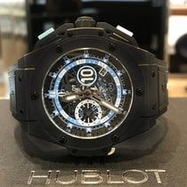 Hublot King Power Ceramic 48mm Black No numerals