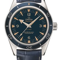 Omega Platinum Automatic Blue new Seamaster 300