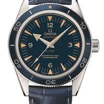 Omega Platinum Automatic Blue new Seamaster 300