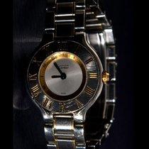 Cartier 21 Must de Cartier Gold/Steel 28mm Silver