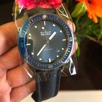 Blancpain Fifty Fathoms Bathyscaphe neu Automatik Uhr mit Original-Box und Original-Papieren 5000-0240-O52A