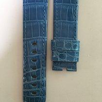 Panerai 24/22mm Brillant Blue Alligator Strap 115/75cm