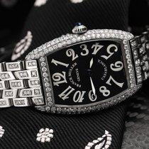 Franck Muller Casablanca Steel 25mm Black Arabic numerals United States of America, New York, New York