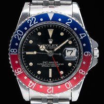 Rolex 1675 GMT Master Gilt Chapter Ring Exclamation GLOSSY +...