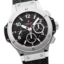 Hublot Big Bang Stahl 44 mm Rubber Strap  FULL SET