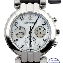 Harry Winston Premier White gold 37mm Mother of pearl Arabic numerals United States of America, New York, Lynbrook