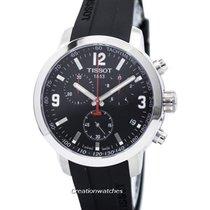 Tissot Chronograph 42mm Quartz new PRC 200 Black