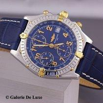 Breitling Chronomat Vitesse Stahl Gold Automatik Ref B13050