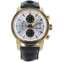 Chopard Chronograph 42.5mm Automatic 2008 pre-owned Grand Prix de Monaco Historique White