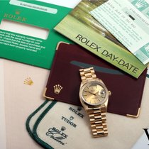 "Rolex 18K Gold Day-Date ""President"" Champagne Dial w/ Box &..."