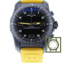 Breitling Cockpit B50 Night Mission Black Yellow Rubber
