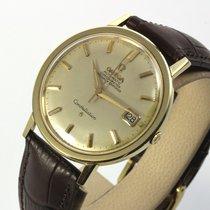 Omega große Constellation solid Gold 1966 Automatik Vintage